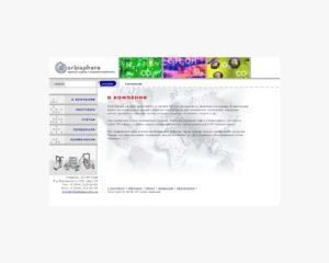 Сайт офіційного представника компанії «ORBISPHERE» на території СНД